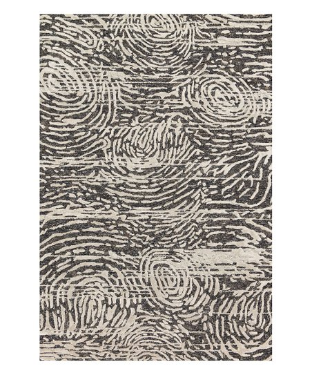 4f2d723a732fd love this product Charcoal & Silver Textured Jeneau Wool-Blend Rug