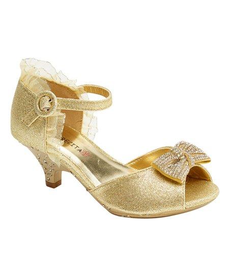 516bd309e love this product Gold Bow Anita Sandal