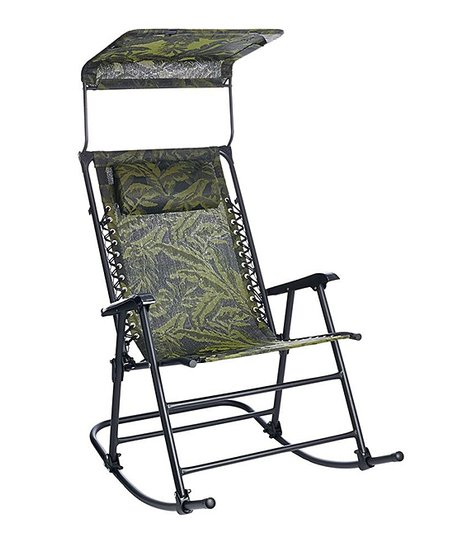 Sensational Bliss Hammocks Bliss Hammocks Deluxe Foldable Rocking Chair With Sun Shade Squirreltailoven Fun Painted Chair Ideas Images Squirreltailovenorg