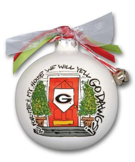 Magnolia Lane Georgia Bulldogs My House Holiday Ornament Zulily