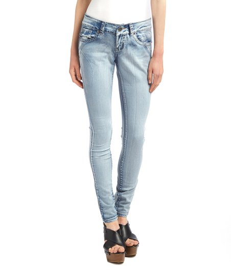27a8206a378 VIP Jeans Light Wash Fashion Lifting Skinny Jeans - Women