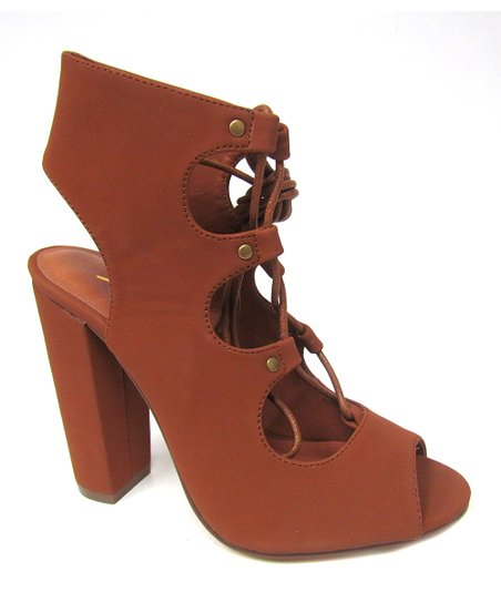 6b1755cbb4c love this product Tan Lace-Up Fay Sandal