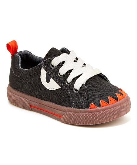 13119763c Carters Gray   Orange Monster Yoon Sneaker
