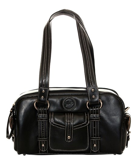 Black Small Leather Camera Bag