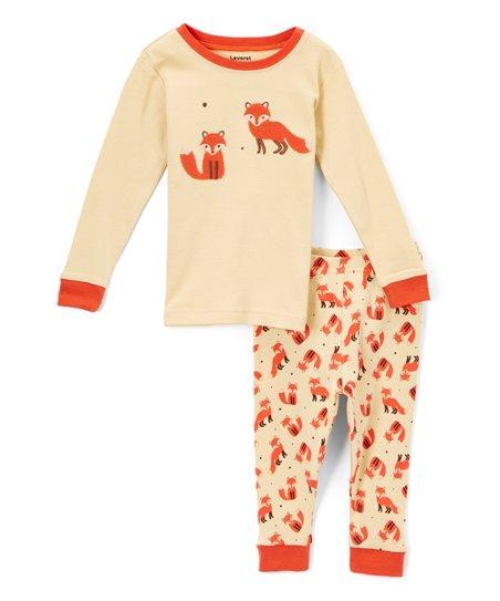 abf69c02ce35 Leveret Yellow Fox Pajamas - Infant
