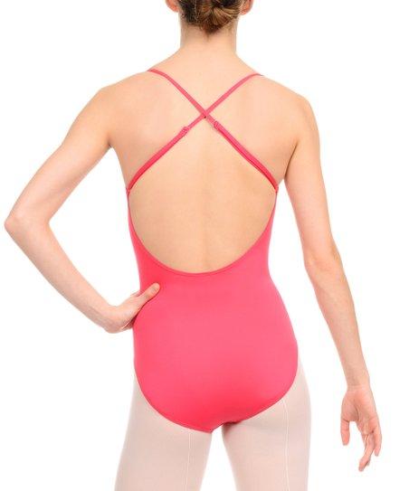 aaa7d1f53 Danskin Pink Cross Back Leotard - Women