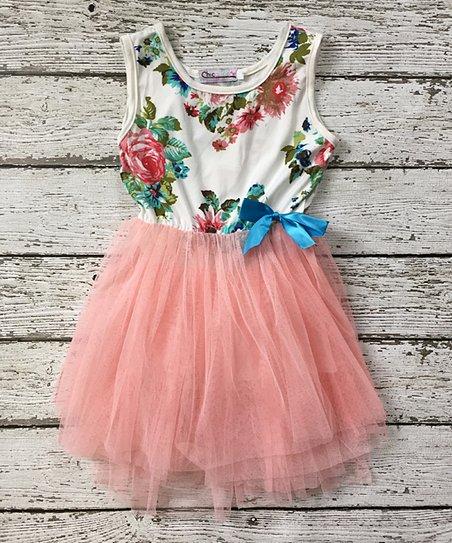 2d59e61cbd love this product Pink Floral Tutu Tank Dress - Toddler   Girls