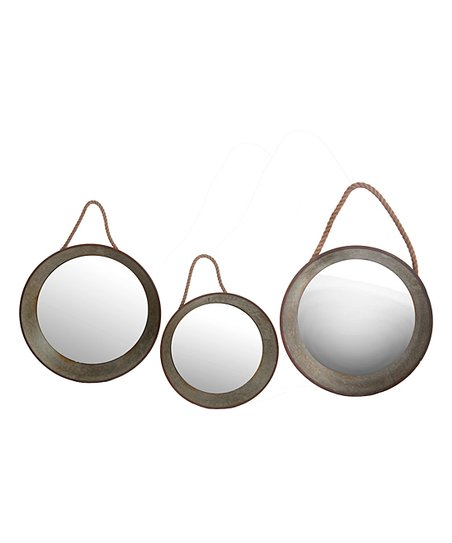 Privilege Metal Rope Round Hanging, How To Hang Three Circle Mirrors