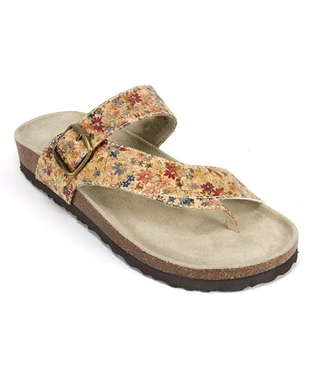 2122677c6b1f love this product Natural Floral Carly Sandal
