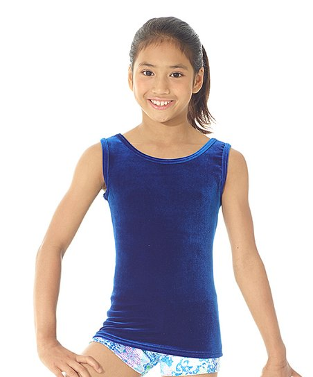 c3579e9c907dc8 love this product Royal Blue Velvet Wide-Strap Camisole - Girls