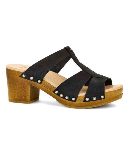 d62b7951421 UGG® Black Leather Jennie Sandal - Women