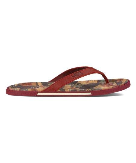 7afa0607340 love this product Matador Red Bennison II Hawaiian Cork Nubuck Flip-Flop -  Men