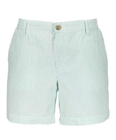 Southern Proper Green Seersucker Shorts Mens Regular Zulily