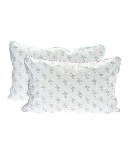 Mypillow Lavender Green Corded Medium Soft Firm Pillow Set Zulily