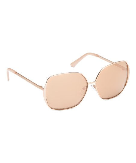 ad4cd85d58 love this product Rose Gold Base 6 Square Polarized Sunglasses