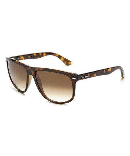 e49e8c14d2 love this product Tortoise   Brown Gradient Flat Top Boyfriend Sunglasses