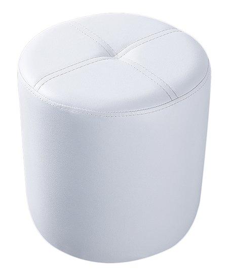 Strange Pilaster Designs White Round Ottoman Stool Zulily Machost Co Dining Chair Design Ideas Machostcouk