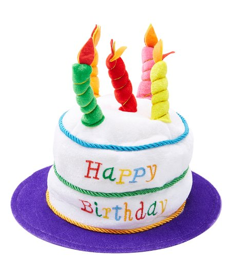 Love This Product Plush Birthday Cake Hat