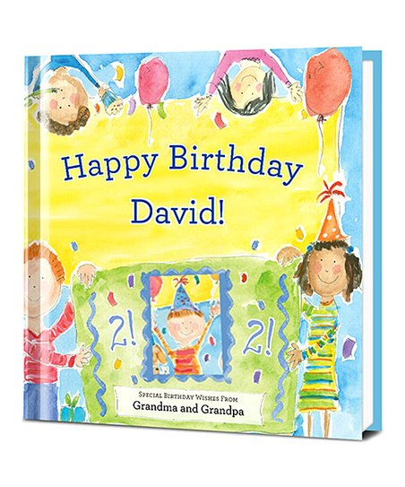 Happy Birthday Personalized Hardcover For Boys