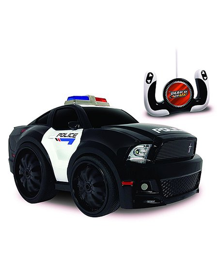 Ford Chunky Police Mustang Gt Remote Control Car