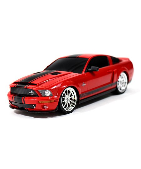 A to Z Toys 1:18-Scale Red Shelby Mustang GT500 Remote Control Car