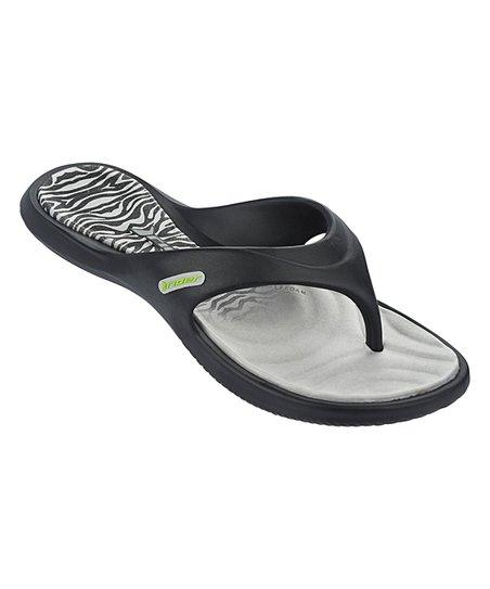 262c4fe5483 love this product Black   Gray Island Flip-Flop - Women