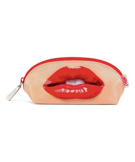 Catseye London Red Lips Oval Bag Zulily