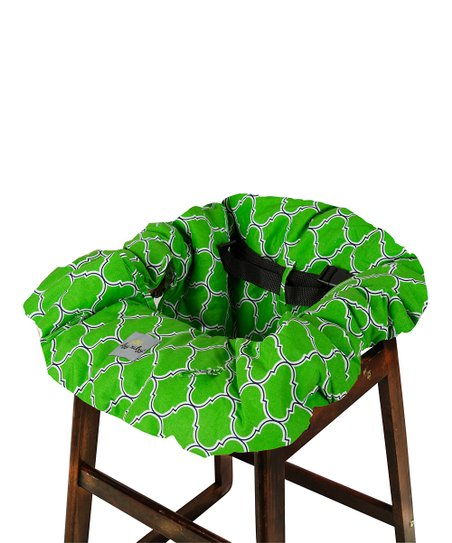 Marvelous Itzy Ritzy Emerald Trellis Shopping Cart High Chair Cover Gmtry Best Dining Table And Chair Ideas Images Gmtryco