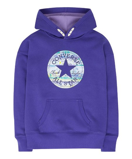 Converse Candy Grape Pullover Hoodie - Girls  44a602093