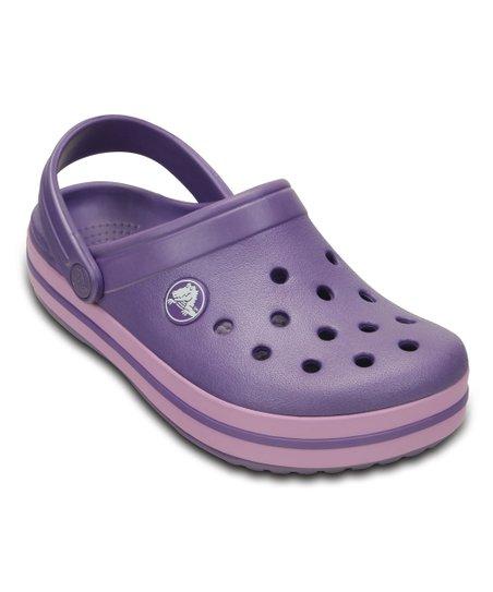 22f00f5d2f33a love this product Blue Violet   Iris Crocband™ Clog - Kids