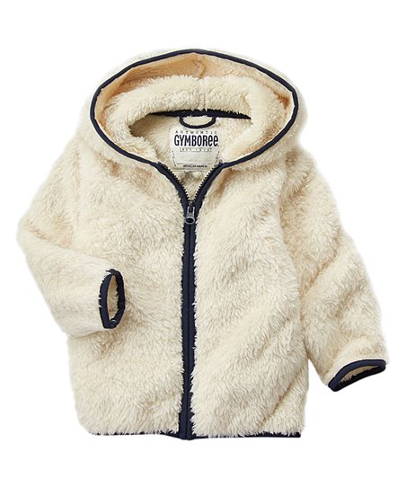 ce83d20f7 Gymboree Mother Goose Sherpa Zip-Up Hoodie - Infant   Toddler