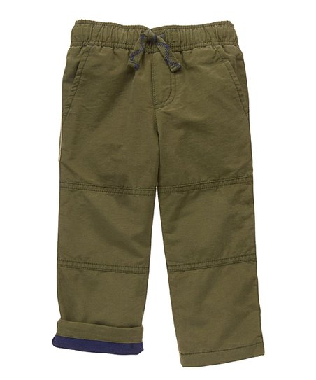 love this product Olive Polar Fleece-Lined Gymster Pants - Infant 746d95c9d7