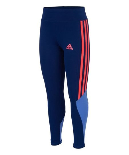 0ef98534f0c3 adidas Dark Blue Toe Touch Tights - Toddler   Girls