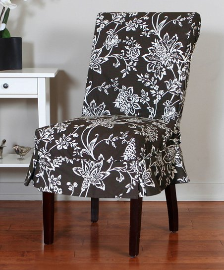 Surprising Caber Surefit Chestnut Verona Dining Chair Cover Gmtry Best Dining Table And Chair Ideas Images Gmtryco