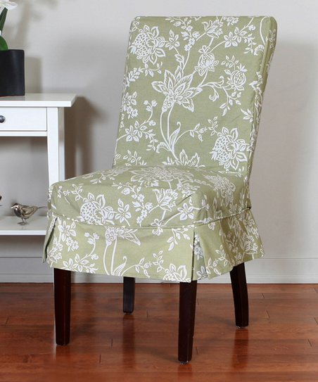 Wondrous Caber Surefit Sage Verona Dining Chair Cover Zulily Gmtry Best Dining Table And Chair Ideas Images Gmtryco