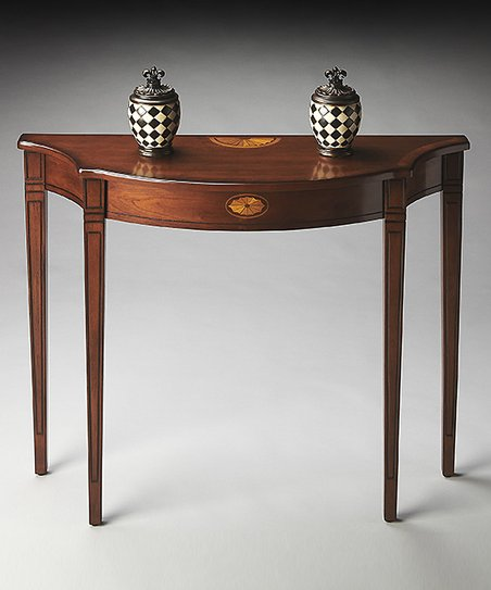 Love This Product Cherry Wood Console Table