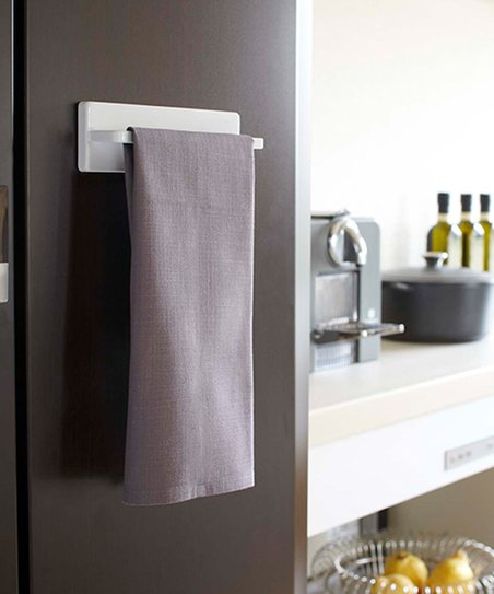 Love This Product White Magnetic Kitchen Towel Hanger