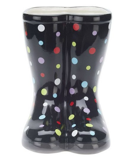 Valerie Parr Hill Indoor Outdoor Ceramic Rain Boot Planter Zulily