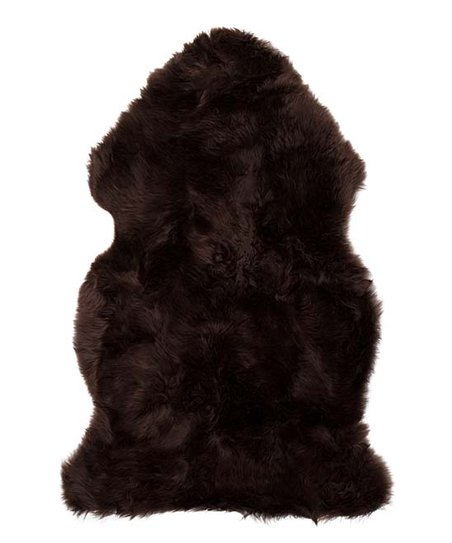 Chocolate New Zealand Sheepskin Rug