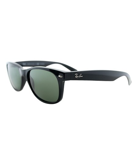 4f160b6fde Ray-Ban Black Polarized New Wayfarer Sunglasses - Unisex