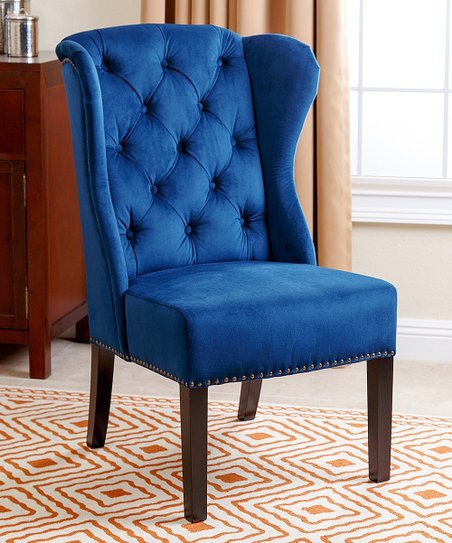 Strange Navy Blue Versailles Tufted Dining Chair Bralicious Painted Fabric Chair Ideas Braliciousco