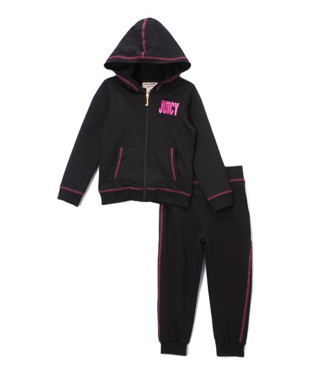 d680932a07 love this product Navy   Fuchsia Hoodie   Sweatpants - Toddler