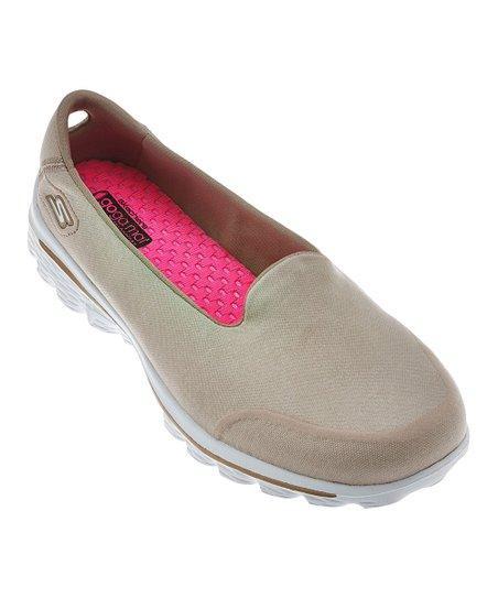 Taupe Courage GOwalk 2 Super Sock Walking Shoe - Women