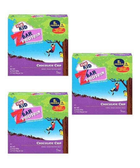 CLIF KID Chocolate Chip 15-Piece Clif Kid Zbar Set