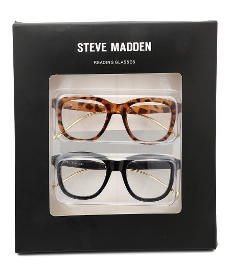 04ce9c4354c5 Steve Madden Black Readers & Tortoise Readers | Zulily