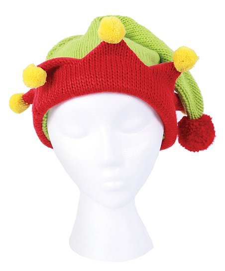 624ba887ca0c2 love this product Red   Green Elf Hat