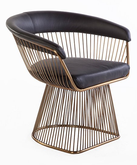 Superb Control Brand Black Copper Warren Lounge Chair Andrewgaddart Wooden Chair Designs For Living Room Andrewgaddartcom