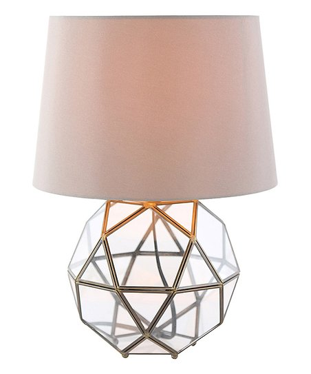 River Of Goods Metal Glass Orb Table Lamp Zulily