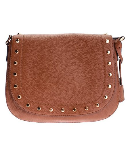 665a668064 love this product Luggage Hamilton Traveler Studded Leather Messenger Bag