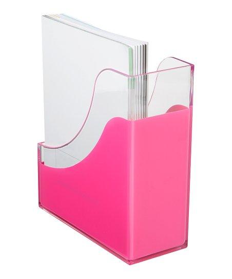Richards Homewares Pink Magazine Holder